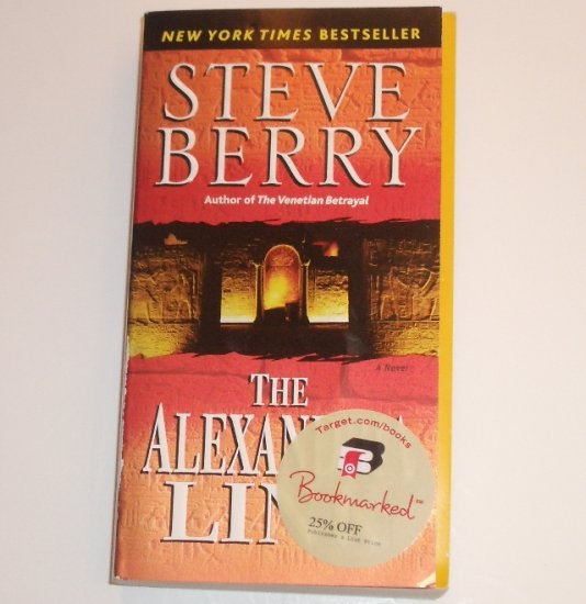 The Alexandria Link by STEVE BERRY 2007 Thriller