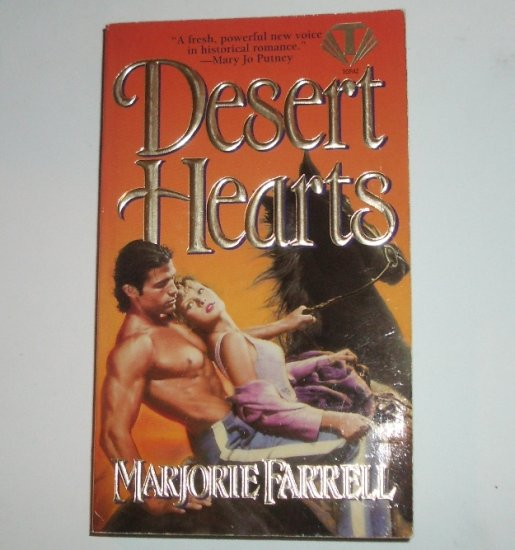 Desert Hearts by MARJORIE FARRELL Historical Western Romance 1996