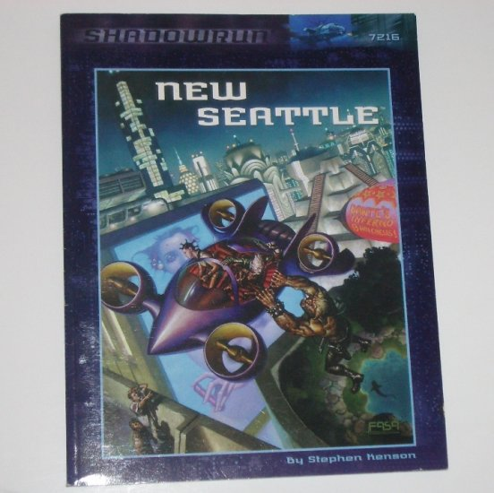 Shadowrun New Seattle by STEPHEN KENSON 1999