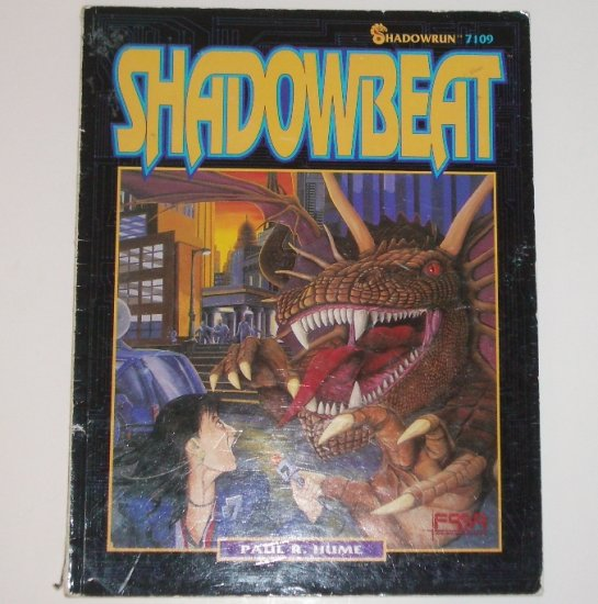 Shadowrun Shadowbeat by PAUL R HUME 1992