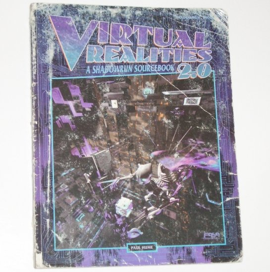 Shadowrun Virtual Realities 2.0 by PAUL HUME 1995