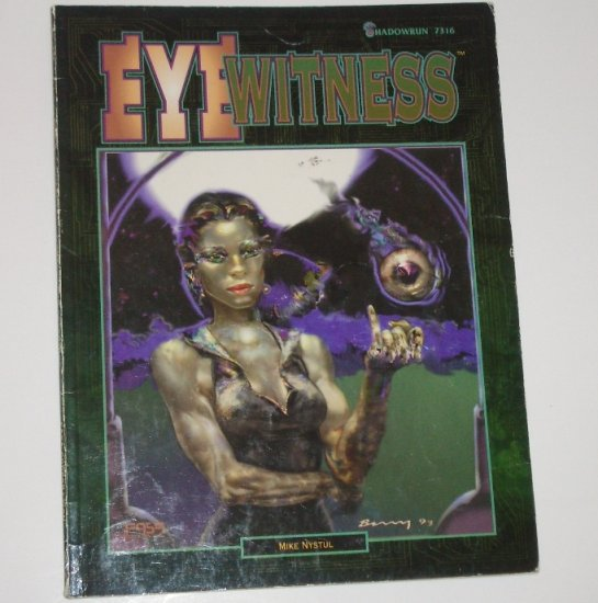 Shadowrun Eye Witness by MIKE NYSTUL 1994
