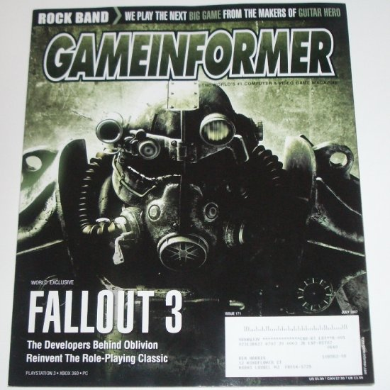 Game Informer Magazine July 2007