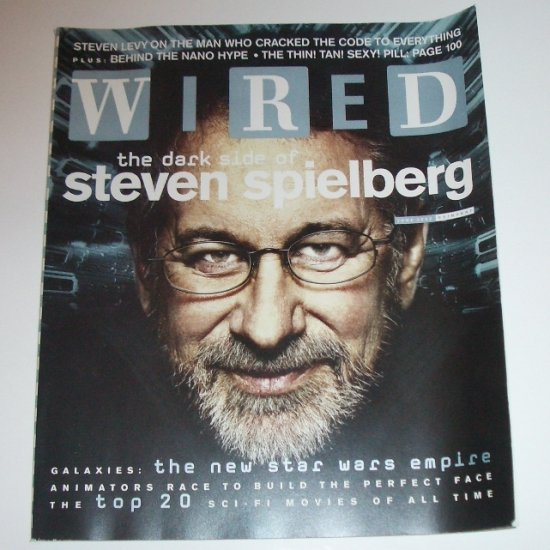 WIRED Magazine June 2002 Steven Spielberg