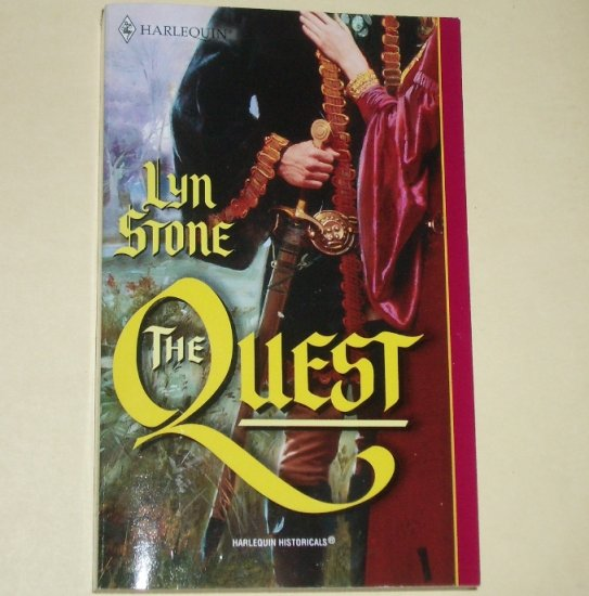 The Quest by LYN STONE Harlequin Historical Medieval Romance No. 588 2001