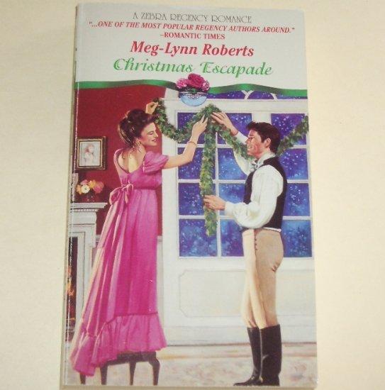 Christmas Escapade by MEG-LYNN ROBERTS Zebra Historical Regency Romance 1994