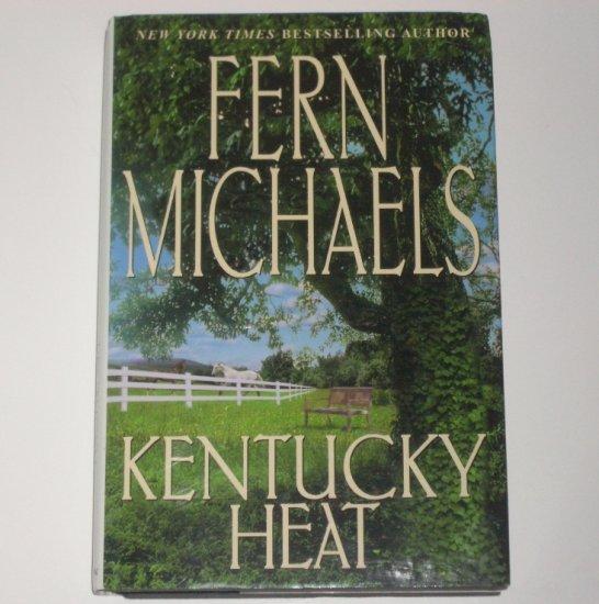 Kentucky Heat by Fern Michaels 2002 Hardcover Dustjacket Kentucky Series