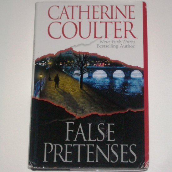 False Pretenses by CATHERINE COULTER Romantic Suspense 2000 Hardcover with Dust Jacket