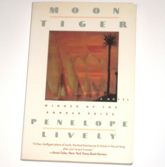 Moon Tiger by PENELOPE LIVELY Booker Prize Winner 1989