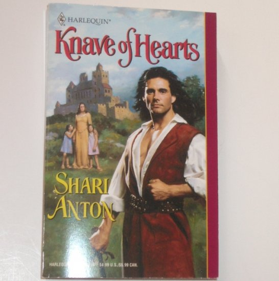 Knave of Hearts by SHARI ANTON Harlequin Historical Medieval No 547 2001