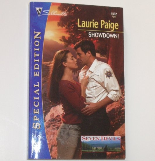Showdown! by LAURIE PAIGE Silhouette Special Edition 1532 Apr03 Seven Devils Series