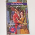 Lady Leprechaun by Melinda McRae Slim Signet Historical Regency Romance 1993