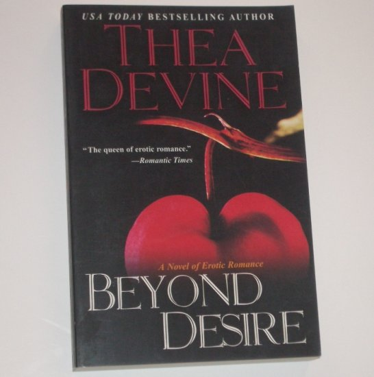 Beyond Desire by THEA DEVINE Erotic Romance 1993