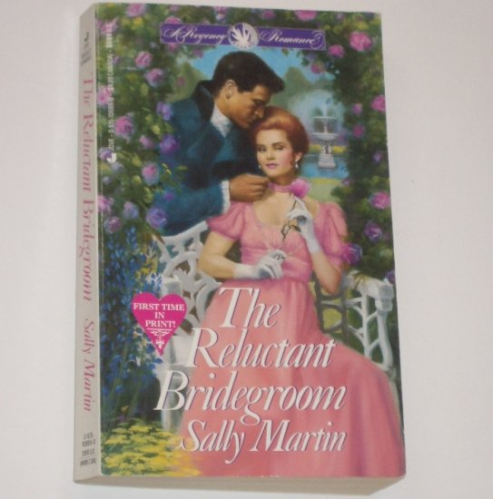 The Reluctant Bridegroom by SALLY MARTIN Jove Slim Regency Romance 1991