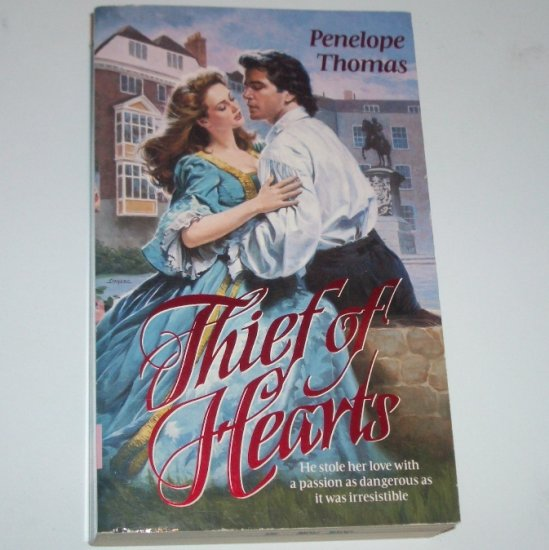 Thief of Hearts by PENELOPE THOMAS Historical Renaissance Romance 1993