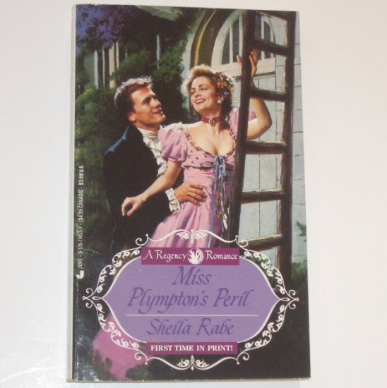 Miss Plympton's Peril by SHEILA RABE Jove Historical Regency Romance 1994