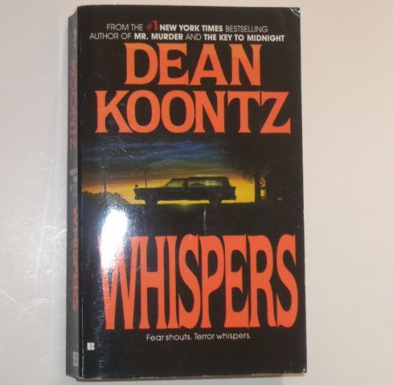 Whispers by Dean Koontz Suspense Thriller 1981