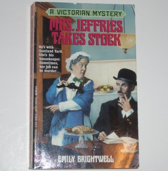 Mrs. Jeffries Takes Stock by EMILY BRIGHTWELL A Victorian Mystery 1994