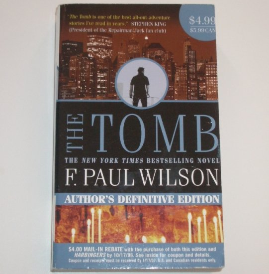 The Tomb by F PAUL WILSON 2006 Adversary Cycle / Repairman Jack