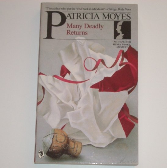 Many Deadly Returns by PATRICIA MOYES An Inspector Henry Tibbett Mystery 1987