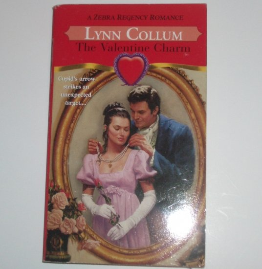 The Valentine Charm by LYNN COLLUM Zebra Slim Historical Regency Romance 2001