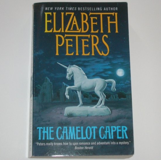 The Camelot Caper by ELIZABETH PETERS Cozy Mystery 2001