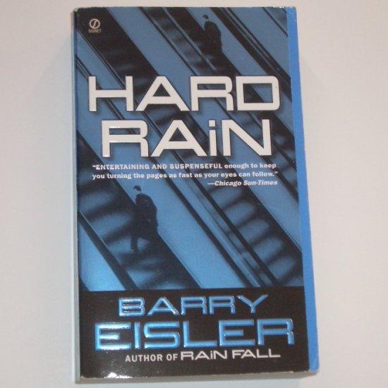 Hard Rain by BARRY EISLER Thriller 2004
