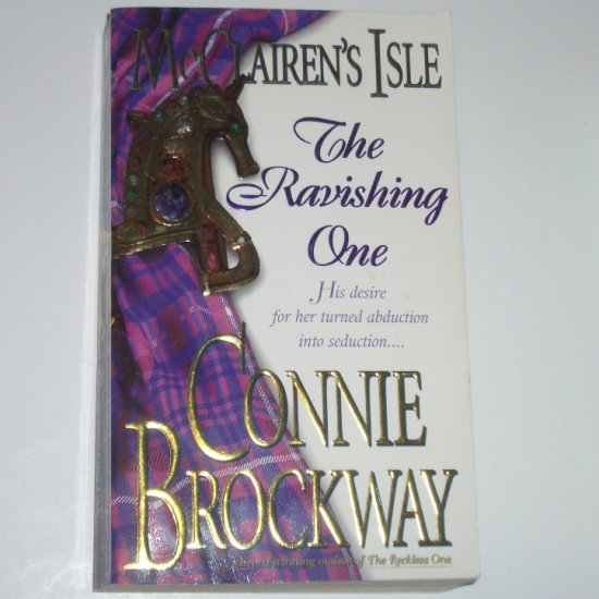 McClairen's Isle  The Ravishing One by CONNIE BROCKWAY Historical Scottish Romance 2000