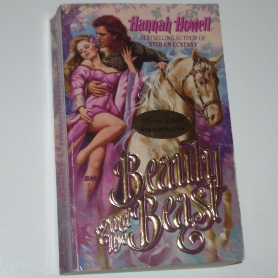 Beauty and the Beast by HANNAH HOWELL Historical Medieval Highland Romance 1992