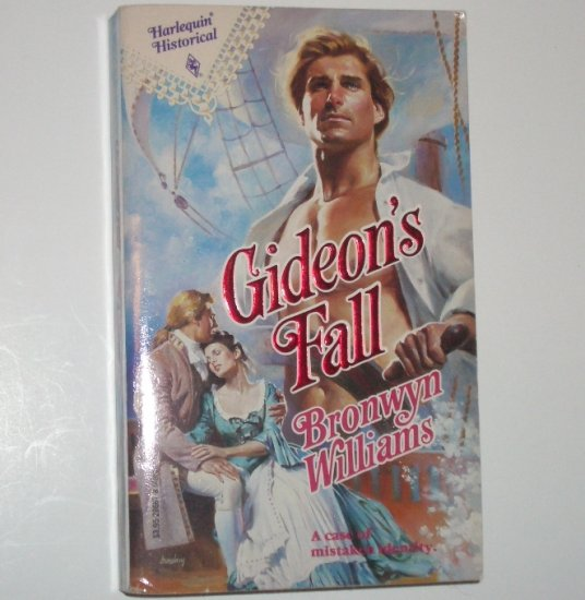 Gideon's Fall by BRONWYN WILLIAMS Harlequin Historical Pirate Romance No 67 1991