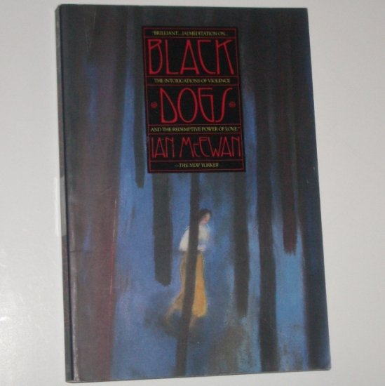 Black Dogs by IAN McEWAN Trade Size 1994