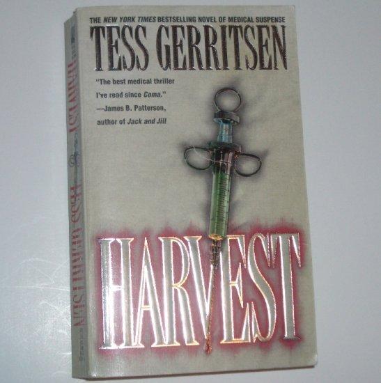 Harvest by TESS GERRITSEN Medical Thriller 1997