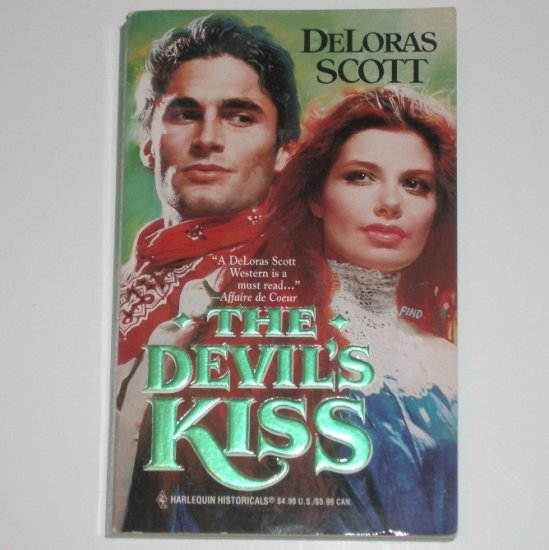 The Devil's Kiss by DeLORAS SCOTT Harlequin Historical No 346 Western Romance 1996