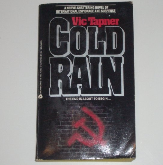 Cold Rain by VIC TAPNER Thriller 1988