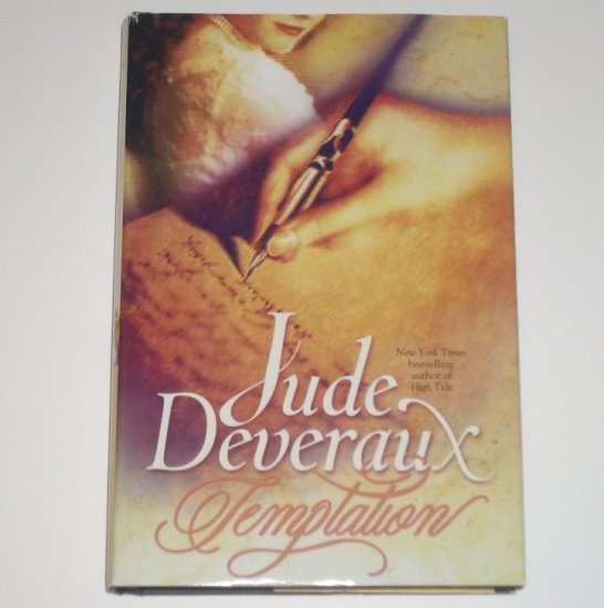 Temptation by Jude Deveraux Hardcover with Dustjacket Turn of the Century Romance 2000