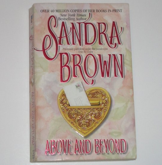 Above and Beyond by SANDRA BROWN Romance 1986
