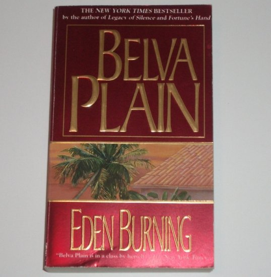 Eden Burning by BELVA PLAIN 1987