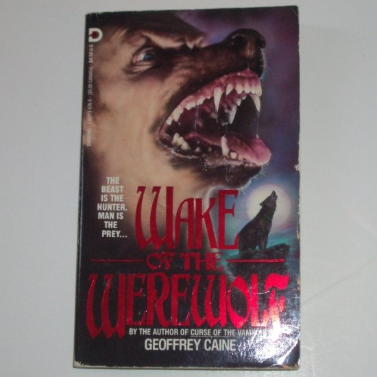 Wake of the Werewolf by GEOFFREY CAINE Horror 1991