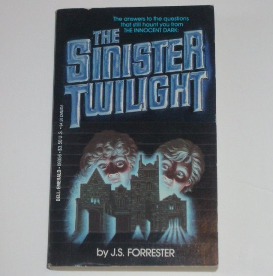 Sinister Twilight by J S FORRESTER Horror 1984