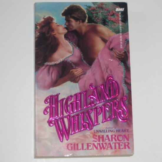 Highland Whispers by SHARON GILLENWATER Historical Romance 1989