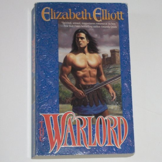 The Warlord by ELIZABETH ELLIOTT Medieval Paranormal Witch Romance 1995