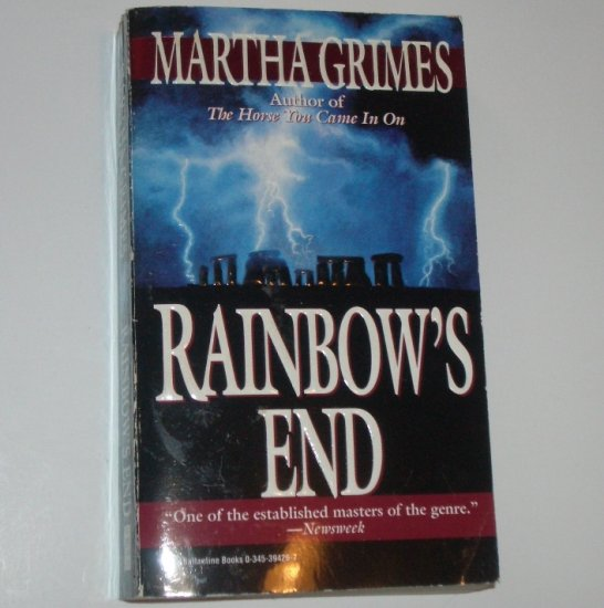 Rainbow's End by MARTHA GRIMES A Superintendent Richard Jury Cozy Mystery 1996