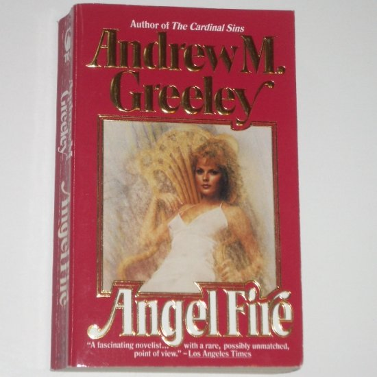 Angel Fire by ANDREW M GREELEY Fantasy Angel Romance 1989