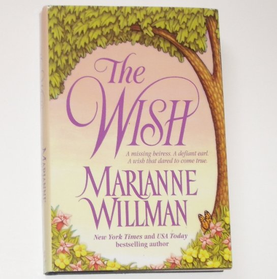 The Wish by MARIANNE WILLMAN Regency Romance 2000 Hardcover with Dust Jacket