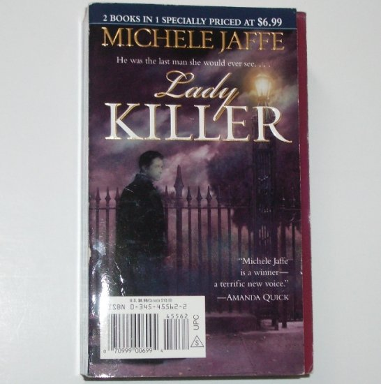 Secret Admirer and Lady Killer by MICHELE JAFFE 2-in-1 Historical Supernatural Mystery Romance 2002