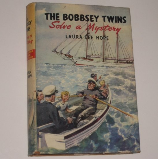The Bobbsey Twins Solve a Mystery by LAURA LEE HOPE Hardcover with Dustjacket 1955