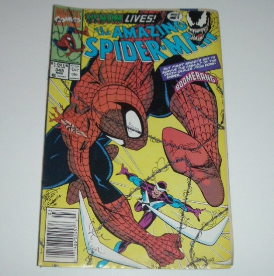 Amazing Spider-Man #345 (Marvel Comics 1991)