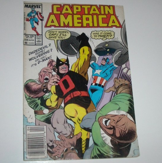 Captain America #328 (Marvel Comics 1987)