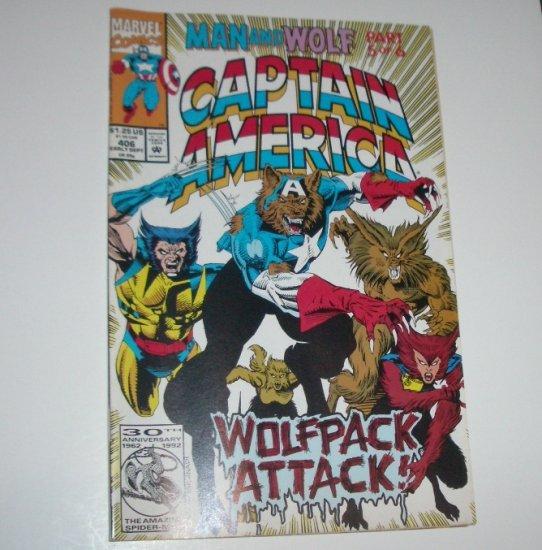 Captain America #406 (Marvel Comics 1992)