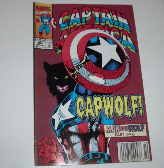 Captain America #405 (Marvel Comics 1992)